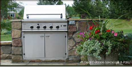 Denver, Colorado Landscaping Outdoor Grill